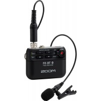 Zoom F2 Field Recorder with Lavalier Microphone and Bluetooth Control (Pre-Order Only)