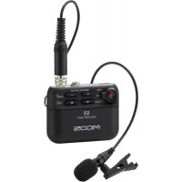 Zoom F2 Field Recorder & Lavalier Microphone (Pre-Order Only)