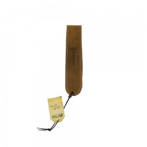 Martin 18A0027 Distressed Ball Glove Leather Guitar Strap (Brown)
