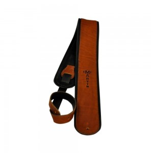 Martin 18A0028 Rolled Leather Guitar Strap (Brown)
