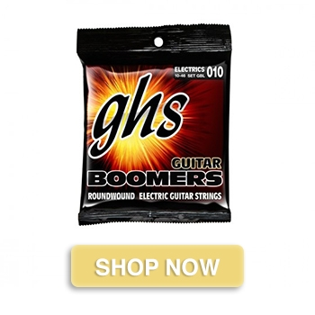 GHS Boomers GBL Light Electric Guitar Strings